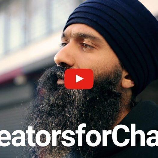 YOUTUBE CREATORS FOR CHANGE